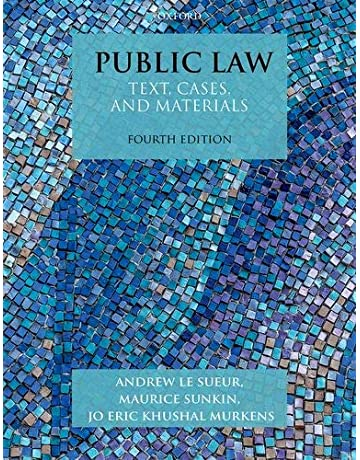 Public Administration Law Books