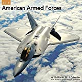 2018 American Armed Forces Wall Calendar (Mead)