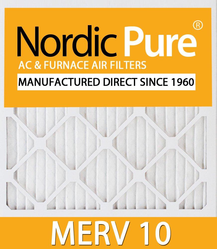 Nordic Pure 8x16x1CustomM10-6 MERV 10 AC Furnace Filters 6 Piece