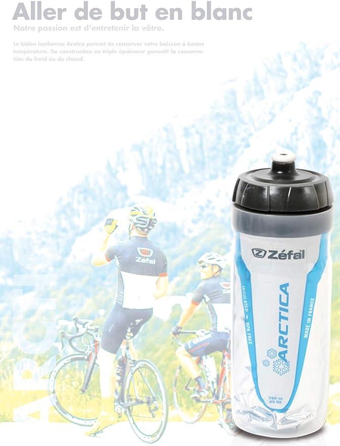 Zefal 165A, Arctica Bidón de ciclismo Isothermo, Unisex Adulto, Blanco, 750 ml: Amazon.es: Deportes y aire libre