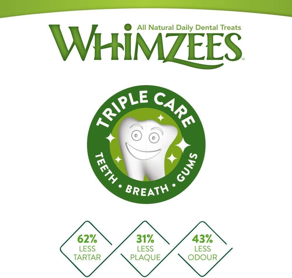 WHIMZEES Friandises en Forme de Brosse /à Dents pour Chien /à mastiquer XS