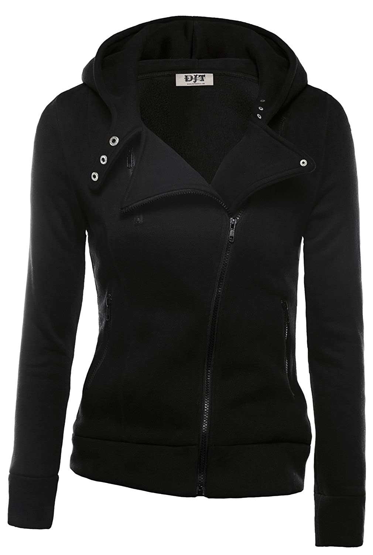 DJT Mujeres Chaqueta Deportiva con Capucha Sports Jacket Coat