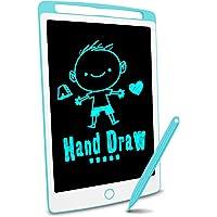 Richgv Tableta de Escritura LCD, Pizarra Infantil 10 Pulgadas, Pizarra magnética para niños, Juguetes electrónicos para…