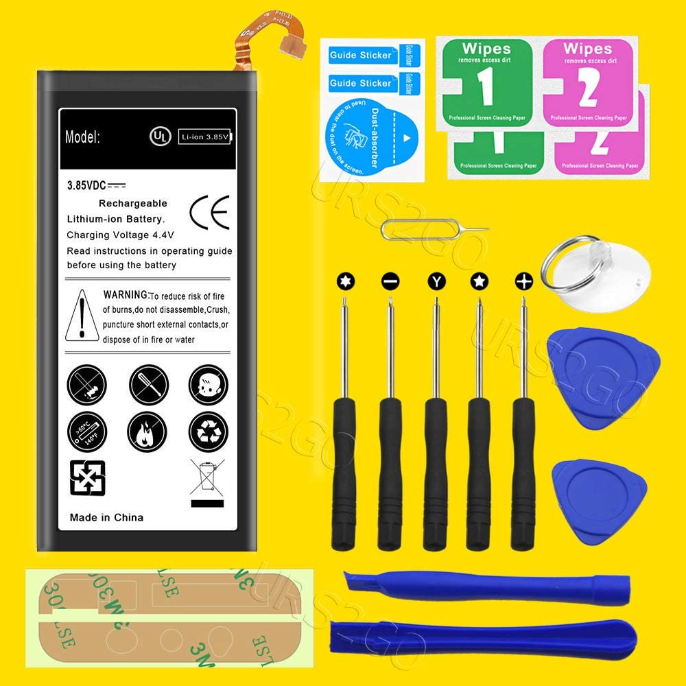 Free Repair Tools Kit Large Capacity Standard Extra 3400mAh Li/_ion 3.85V Battery EB-BJ800ABE for Samsung Galaxy A6 SM-A600T Metro by T-Mobile