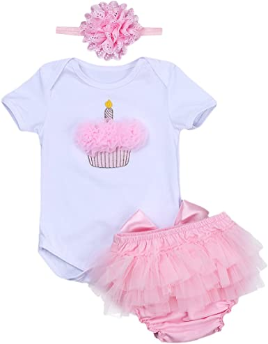 Baby infant girl clothes bodysuit+crown baptism party wedding TUTU dress outfits