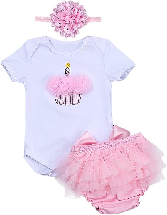 Superb Iwemek Baby Girls 1St Birthday Cake Smash Romper Bodysuit Tutu Birthday Cards Printable Opercafe Filternl