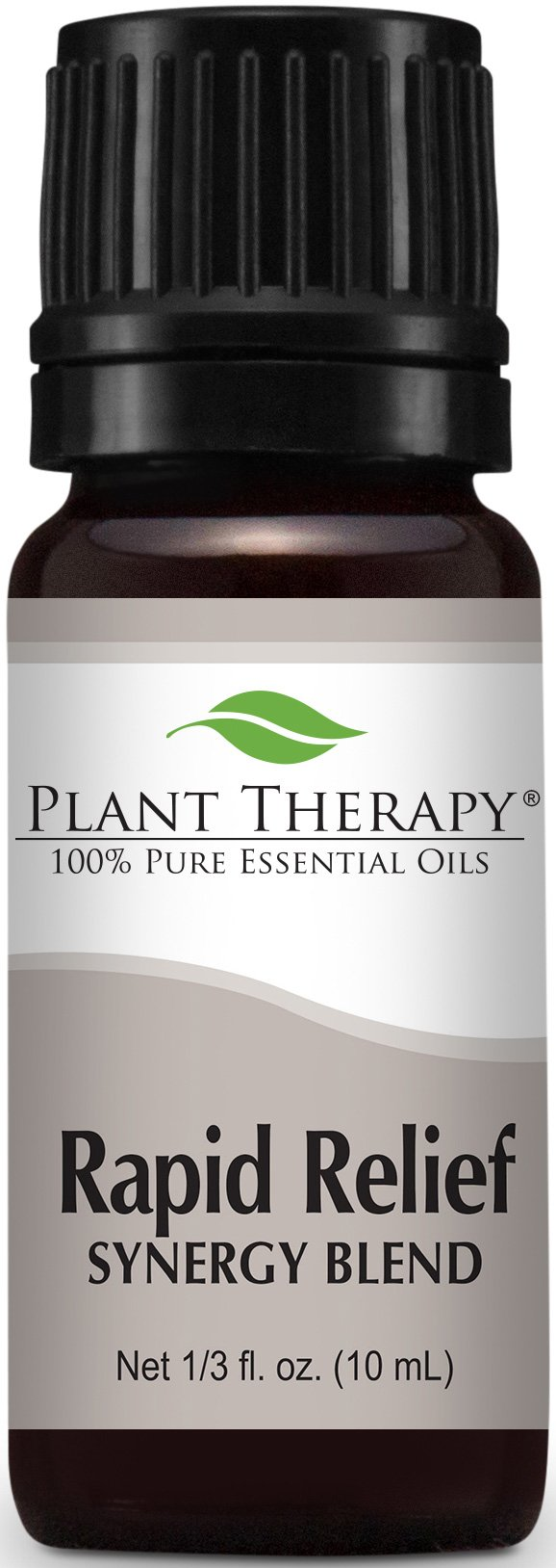 Plant Therapy Rapid Relief Synergy (Formerly Known As Pain-Aid) Essential Oil Blend. 100% Pure, Undiluted, Therapeutic Grade Essential Oils. 10 ml (1/3 oz).