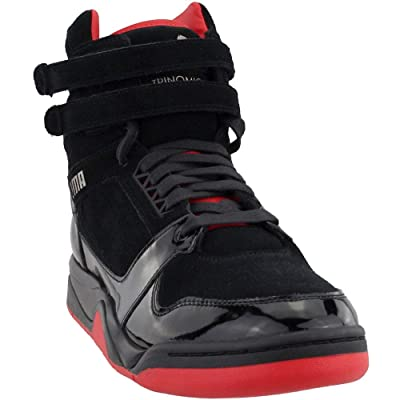 PUMA Mens Palace Guard Mid Red Carpet Casual Sneakers, | Athletic