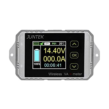 MIUSON DC120V 100A 200A 300A 500A LCD Combo Messger/ät Spannung Strom/überwachung Monitor