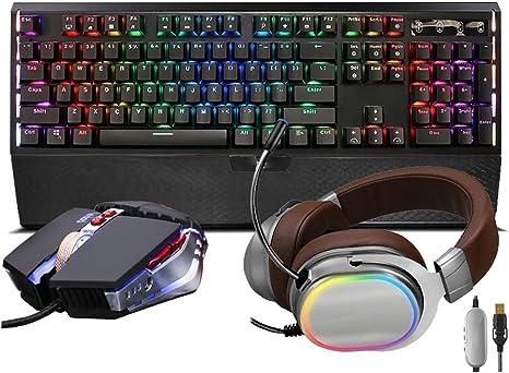 104 Keys Keyboard Xiao Jian Computer Mechanical Wired Keyboard RGB Backlight Mechanical Keyboard//Game Esports Dedicated Keyboard