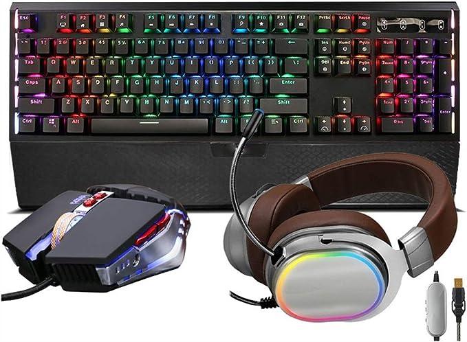 Esports Game Dedicated Mechanical Keyboard//Dustproof Waterproof Black 104 Button Keyboard Xiao Jian Mechanical Wired Keyboard