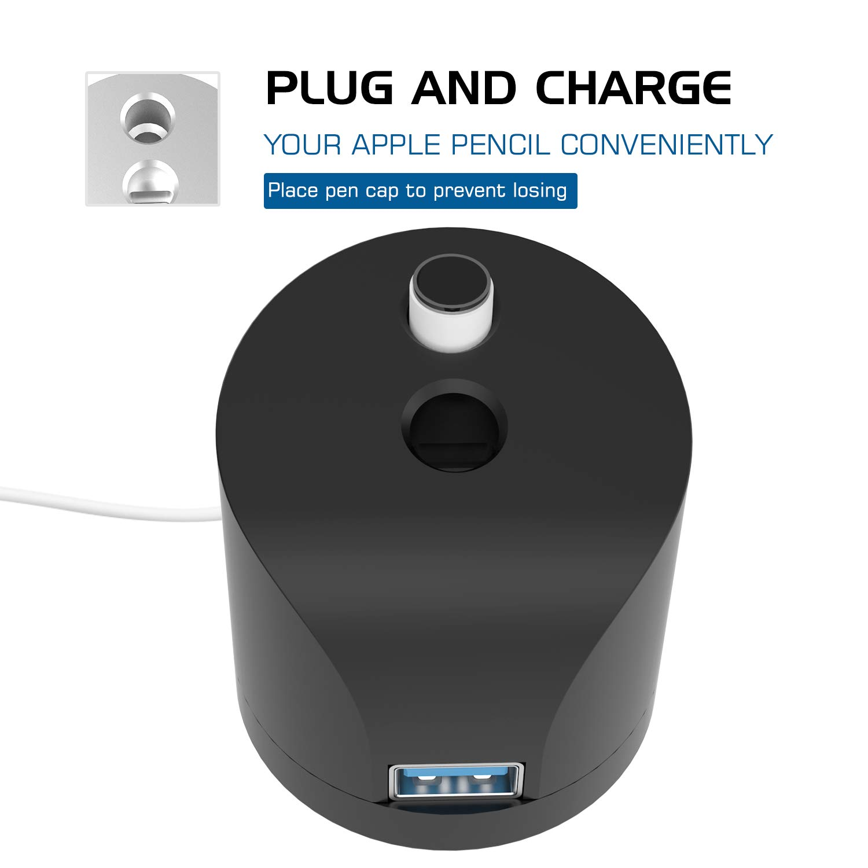 MoKo for Apple Pencil iPad Stand Station Charger Cradle Dock //Desktop Pen Holder