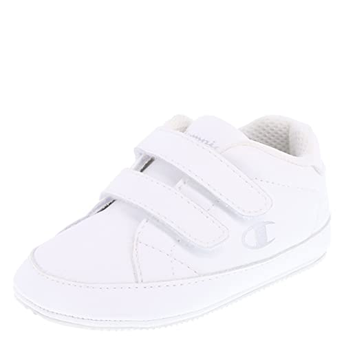 0c6f757aa Amazon.com  Champion Boys  White Boys  Infant Classic Court 3 Wide  Shoes