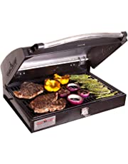 Camp Chef BB-90L Professional Sport Grill Box, Covers 2 Left Burners (Black)
