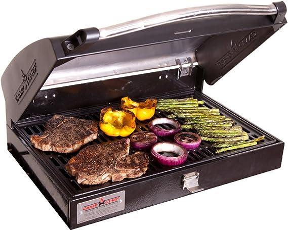 Camp Chef Professional Barbecue Grill Box for 3 Burner Stove