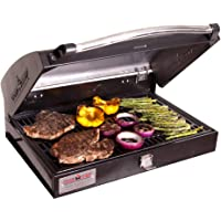 Camp Chef BB-90L Professional Sport Grill Box, Covers 2 Left Burners (Black)