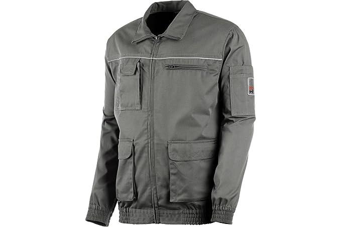 Giacca da lavoro CLASSIC 100% cotone grigio grigio M  Amazon.it   Abbigliamento 07b293790dfa