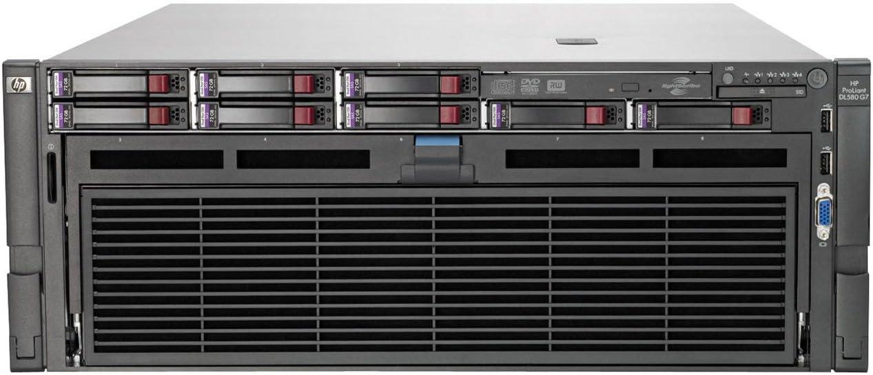 HP ProLiant DL580 G7 4U Rack Server - 4 x Intel Xeon E7-4870 2.4GHz