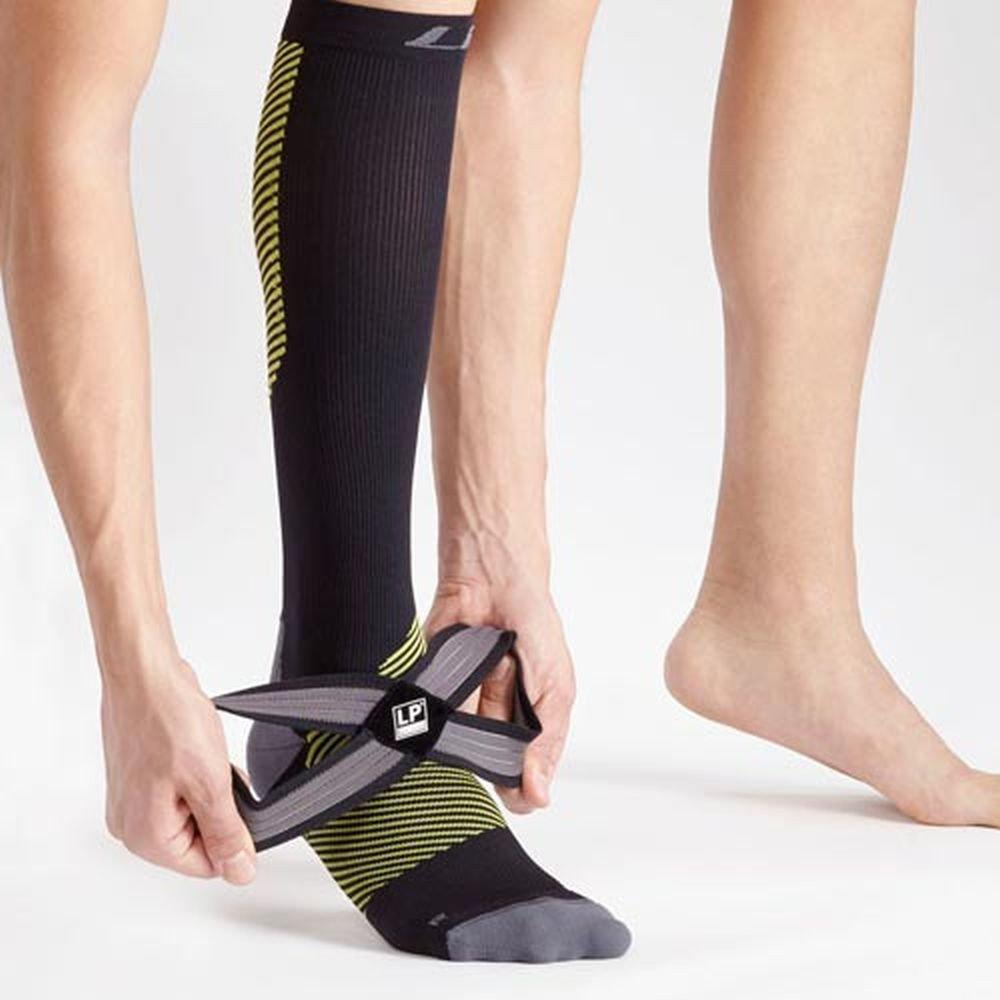 Lp Supports 204 Z Embioz Compression Socks 1 Pair Of Unisex Neoprene Ankle Support 704 For Men Or Women Travel Flight Spor T Running Jogging