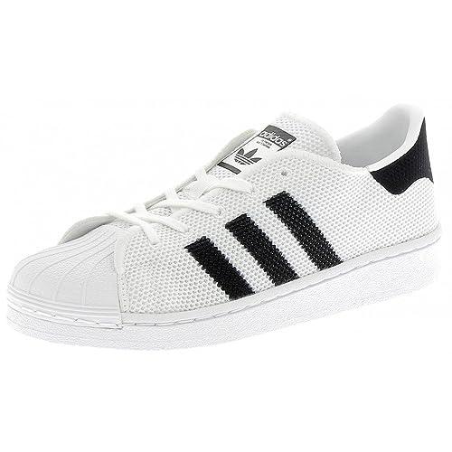 Adidas - Adidas Superstar C Scarpe Sportive Bambino/a Bianche - Bianco, 30