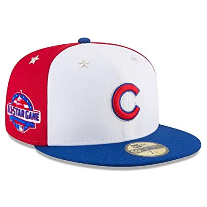 3da4823041f3e6 New Era Chicago Cubs 2018 MLB All-Star Game On-Field 59FIFTY Fitted Hat