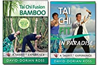 Bundle: Tai Chi 2-DVD set with David-Dorian Ross: BAMBOO Yoga /PARADISE workout 2018 **BESTSELLER** from YMAA