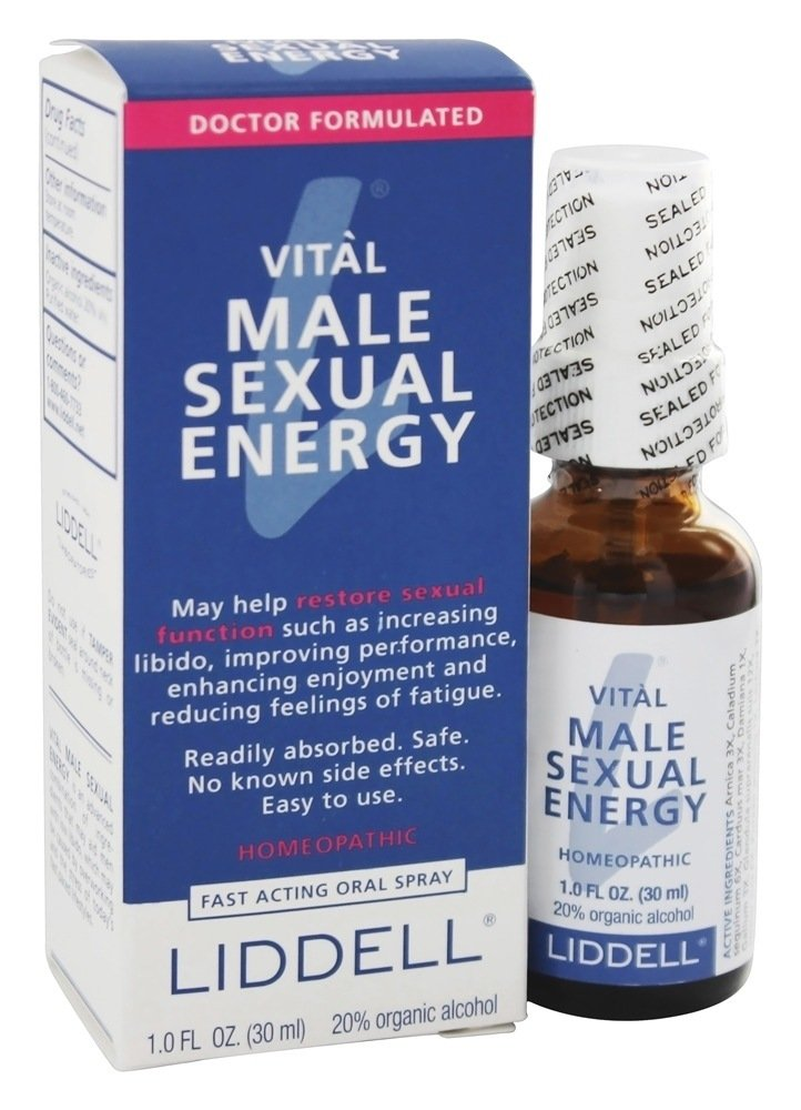 Liddell Homeopathic Energy Male 1 fl oz
