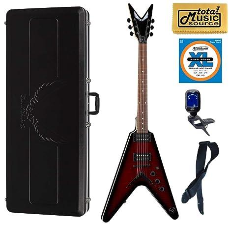 Dean VX FM TRD - Guitarra de cuerpo sólido con parte superior de ...