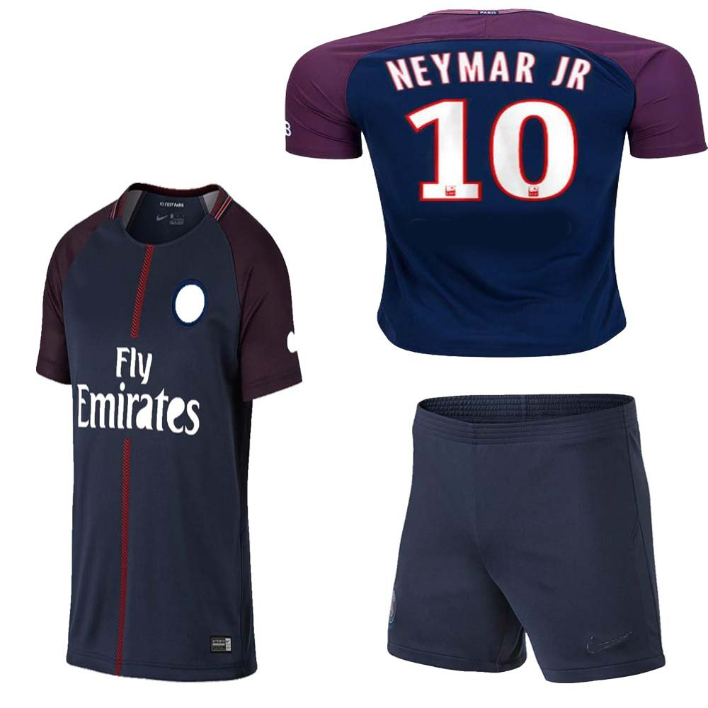 Kid / youthパリサンジェルマンPSG FC 2017年2018 17 18レプリカHome & Away Jerseyのネイマール、Cavani & Di Maria B074RC8L18 Size 20 (3-4 Years Old)|カバーニ ホーム(Cavani Home) Size 20 (3-4 Years Old)