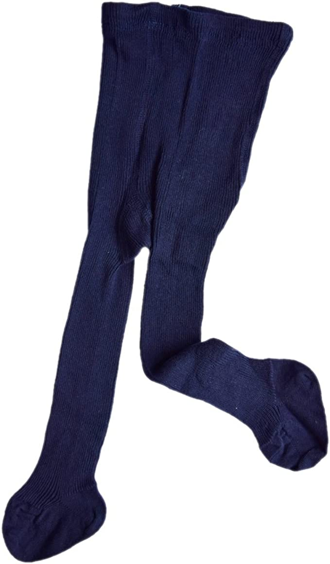Baby Girl knit Leggings Footed Pants with 100/% organic cotton