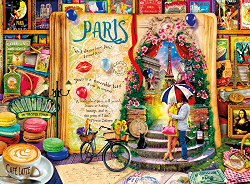 Buffalo Games Life Is an Open Book-Paris by Aimee Stewart Ji