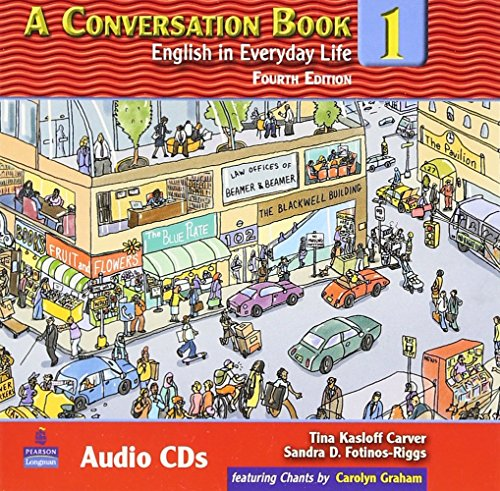 A Conversation Book 1: English in Everyday Life Audio Program (3 CDs) by Brand: Pearson Education ESL