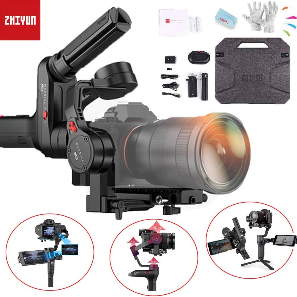 【1年保証】Zhiyun WEEBILL LAB 多機能 ジンバル 3軸ハンドヘルドスタビライザー ワイヤレス画像伝送 ViaTouchコントロールシステム ペイロード3kgまで ミラーレスカメラ対応   B07JZW41KC