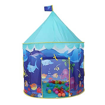 Onway Princess Play Tent Boys Girls House Indoor Foldable Castal Tent for Summer Sea  sc 1 st  Amazon.com & Amazon.com: Onway Princess Play Tent Boys Girls House Indoor ...