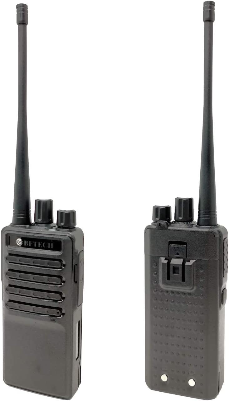BFTECH BF-V8S Walkie Talkie Rechargeable 16 Channel Handheld Two Way Radios IC Certified:25769-BFV8S 2 Pack