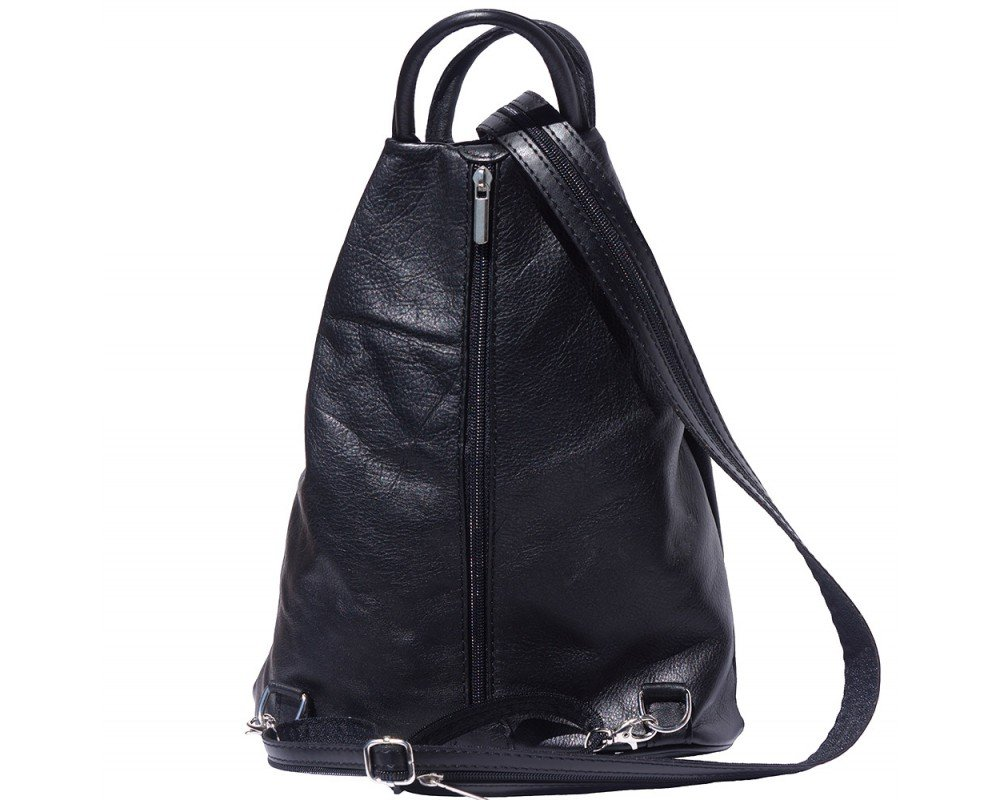 Italian Leather Backpack Shoulder Bag Handcrafted In Florence Italy 2061 NEW IN