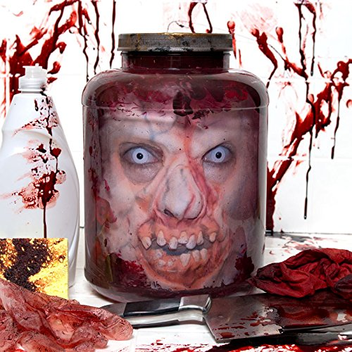 zombie head cookie jar - 5