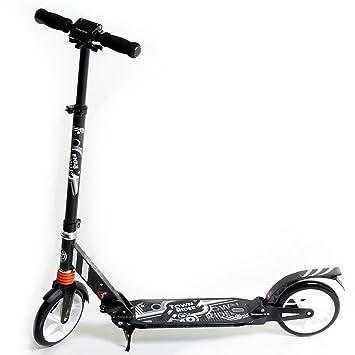 S&S Sportartikel Town Rider - Patinete plegable (aluminio ...