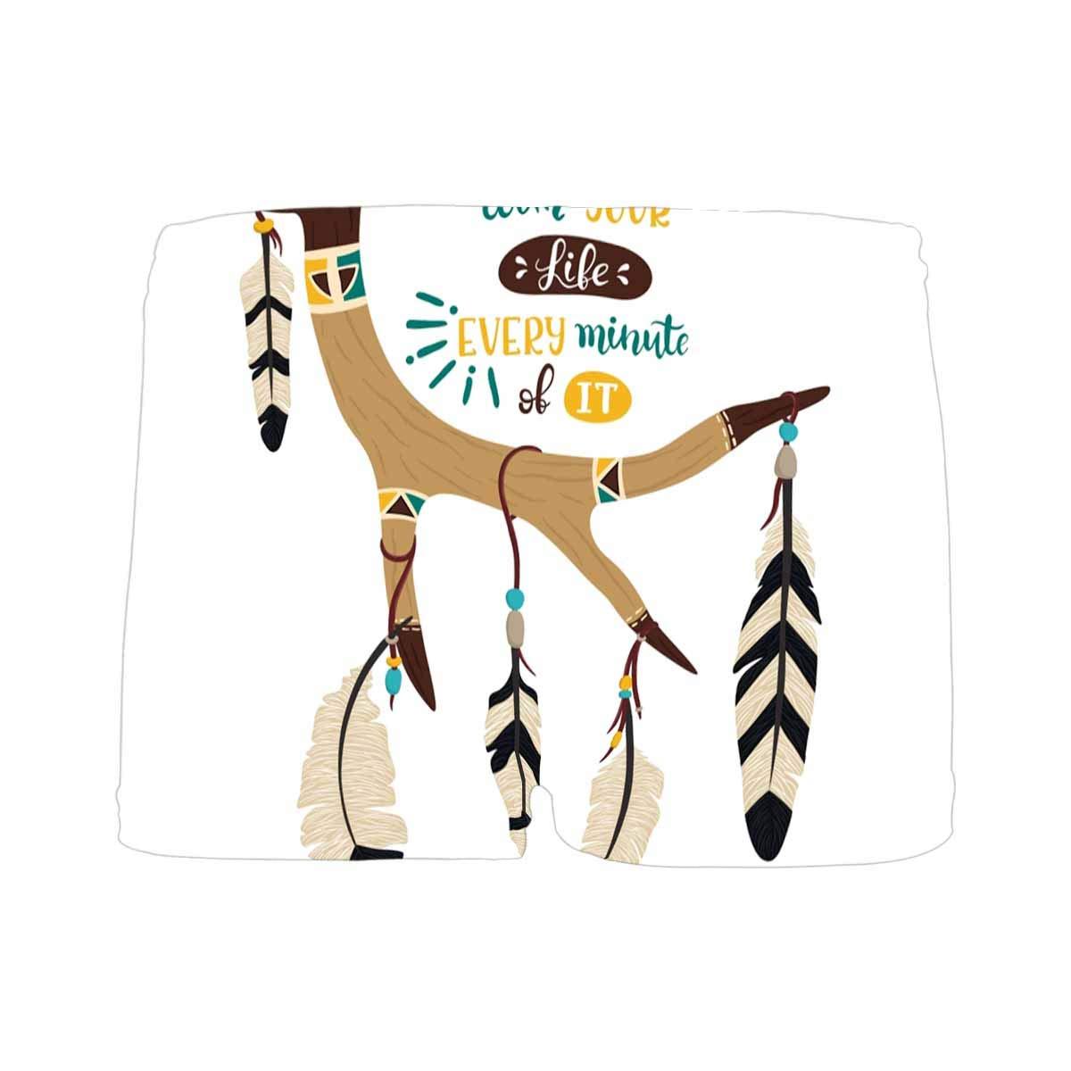 INTERESTPRINT Kids Deer Antler Dream Catcher Comfortable Breathable Briefs 5T-2XL