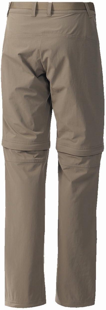 adidas pantalon hiking trekking dwr flexible zip off convertible