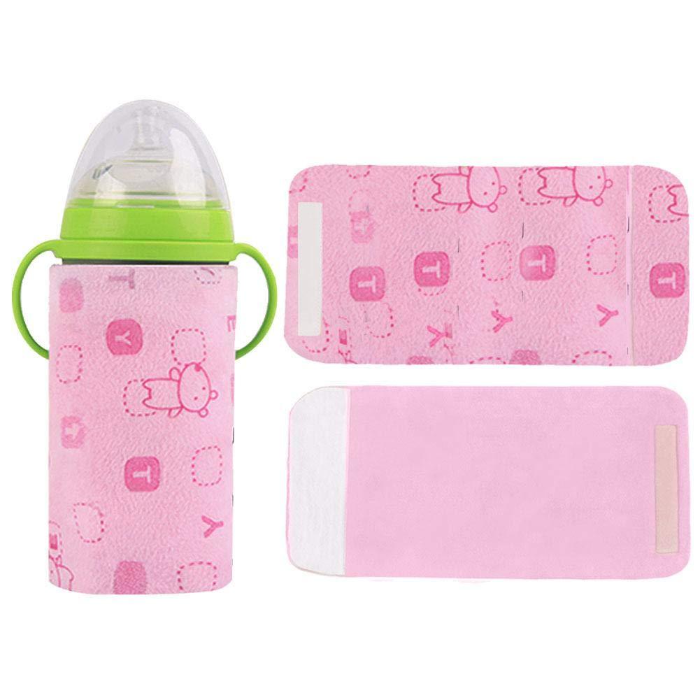 Warme Milch Isolierbeutel Flaschenwärmer Thermostat Baby kostwärmer Babyflaschenwärmer USB Flaschenwärmer Isolierungsabdeckung Fütterung Flasche Tasche Thermostat Outdoor Tragbare Milch Heizung Wärmer iBàste