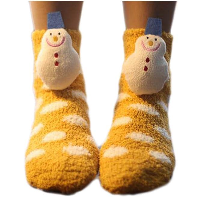 Un par suave calcetines para dormir calcetines calcetines calcetines lindo piso-A06: Amazon.es: Ropa y accesorios