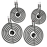 Cooking Appliances MP22YA Electric Range Burner Element Unit Set 2- MP15YA 6.5' 2- MP21YA 8'