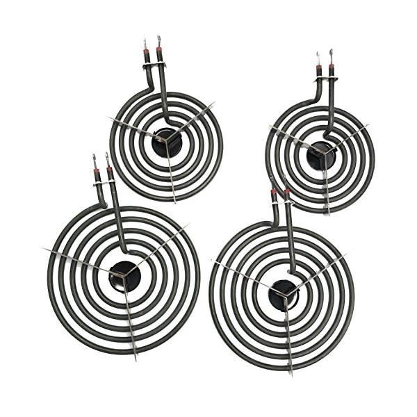 """Cooking Appliances MP22YA Electric Range Burner Element Unit Set 2- MP15YA 6.5"""" 2- MP21YA 8"""" 1"""