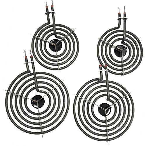 Cooking Appliances MP22YA Electric Range Burner Element Unit Set 2- MP15YA 6.5