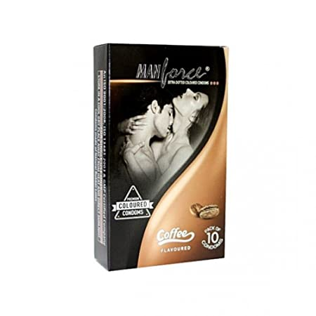 ManForce Coffee Condoms (Set of 10) - Pack of 2 at amazon