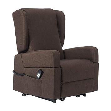 Lingotto poltrona relax alzapersona con reclinazione elettrica a 2 ...
