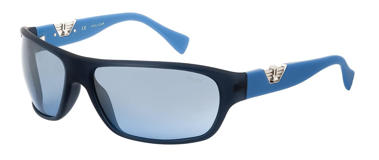 Police S1803684AGM Gafas de Sol, Azul, 68 para Hombre ...