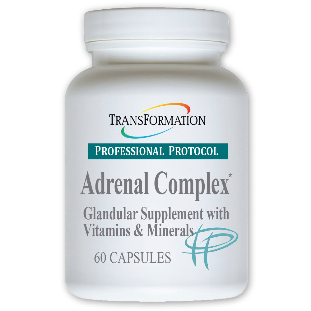 Transformation Enzymes Adrenal Complex - 60 Capsules - Synergistic Formulation of Herbs and Vitamins to Support a Healthy Endocrine System