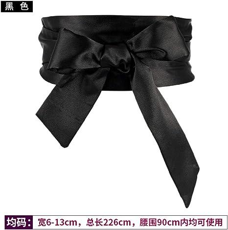 SHUNSHUNYD La Mujer/Lace Correa Ancha Faja Tirantes Anchos Cinturones Camisas Vestidos Damas con Abrigos Simple Versión Coreana De La Decoración Salvaje Cintura Junta,02: Amazon.es: Deportes y aire libre